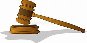 Judge Gavel stock vector. Illustration of illustration ...