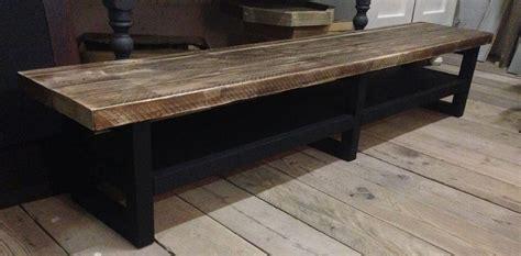 tv meubel hout en ijzer tv meubel hout soft black noten blad hillshome
