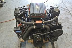 4 3 Marine Engine Mercruiser Alpha 1 Chevy V6 Gm 175 Hp