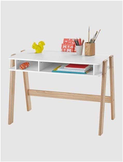 bureaux bois bureau junior architekt blanc bois clair mobiles et