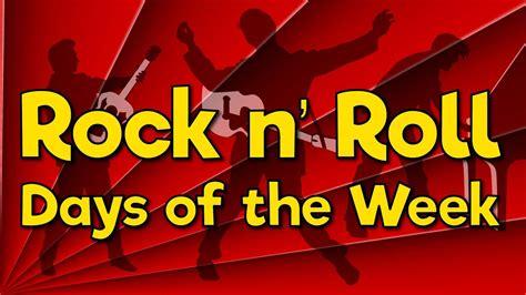 rock  roll days   week fun math song  kids