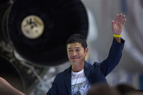 Meet Yusaku Maezawa, Spacex's First Space Tourist Time