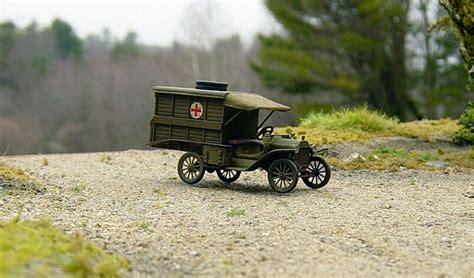 world war  ford model  ambulance