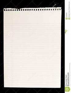 Carnet Page Blanche : pages vides d chir es du carnet de notes spirale photo ~ Teatrodelosmanantiales.com Idées de Décoration