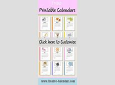 Best 25+ Free printable calendar templates ideas on