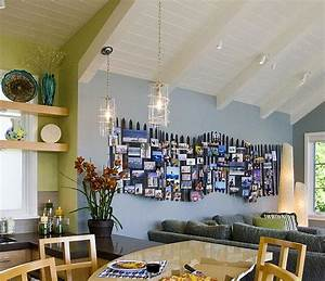 Diy photo wall ideas without frames : Photo collages without frames ideas and inspiration