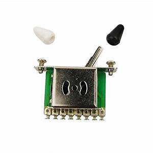 5-way Import Style Strat Switch  Emg 81 - 85 Solderless Zw Kit