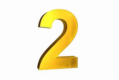 Number 3d Transparent Numbers Yellow Clipart Background