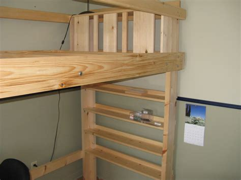 hanging bunk beds free plans at bed loft xl
