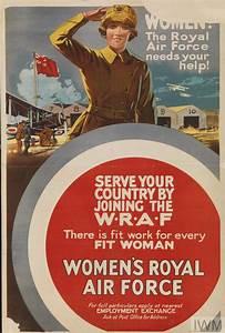 Women! The Royal Air Force Needs Your Help! (Art.IWM PST ...