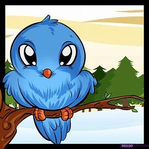 How to Draw a Bird, Step by Step, Birds, Animals, FREE ...