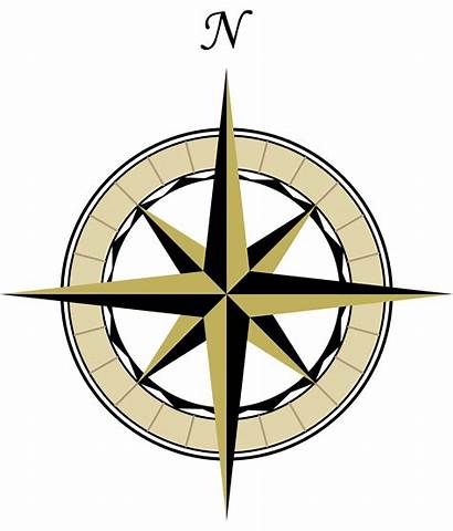 North Map Symbol Arrow Clip