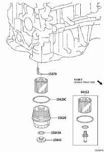 Toyota Rav4 Cap Assembly  Oil Filter - 1562036020