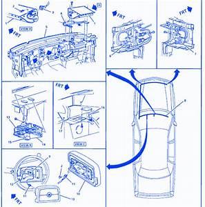 Gm Fleetwood Broght 1997 Location Fuse Box  Block Circuit Breaker Diagram  U00bb Carfusebox