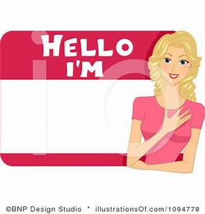 (RF) Name Tag Clipart | Clipart Panda - Free Clipart Images