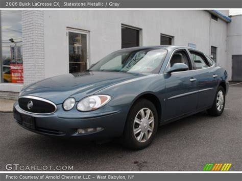 2006 Buick Lacrosse For Sale by Slatestone Metallic 2006 Buick Lacrosse Cx Gray
