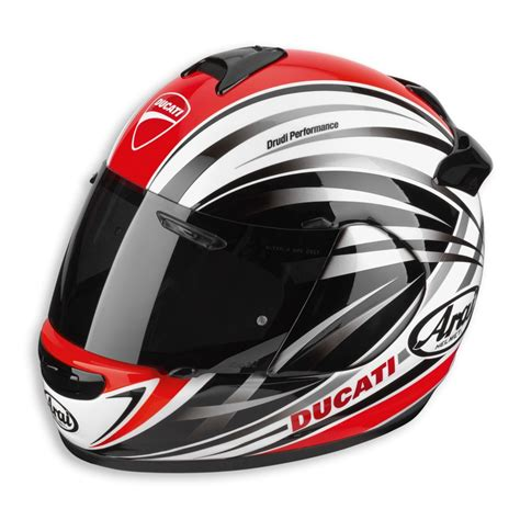 helm arai racing ducati arai stripes helmet 98101845