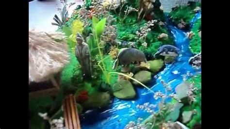 maqueta ecosistema selva del peru youtube