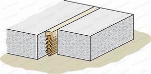 Joint Dilatation Dalle : joint de dilatation du b ton tous les combien travaux ~ Melissatoandfro.com Idées de Décoration