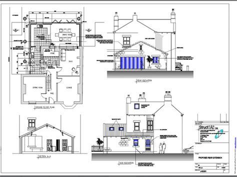 house plan blueprints house extension plans exles house blueprints exles