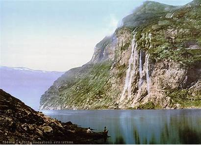 Norway Geiranger Fjord Sisters Seven Wikimedia Wikipedia