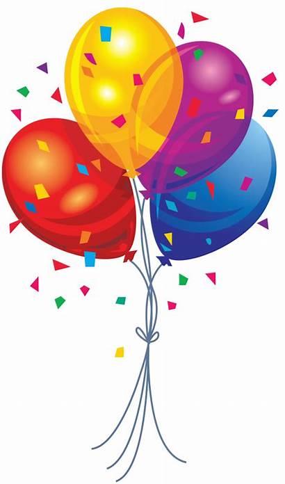 Balloon Clip Clipart 20clipart Balloons Transparent Confetti