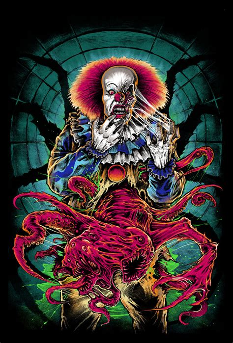 cavity colors pennywise shirt  daily dead