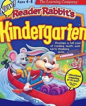 reader rabbit kindergarten 992 | Reader Rabbit Kindergarten