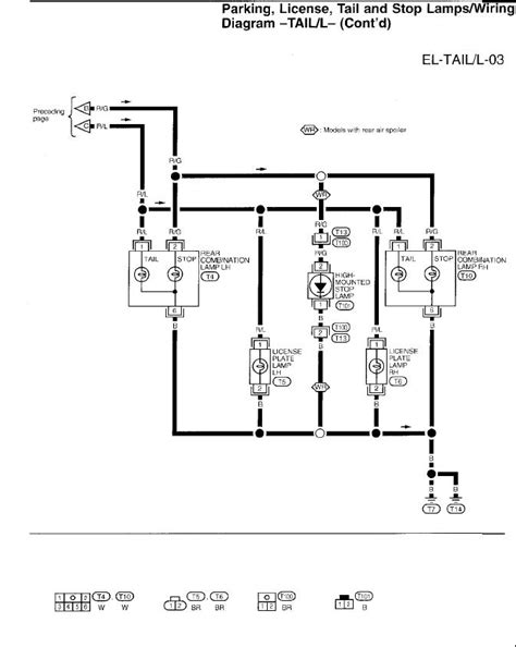 97 Nissan Light Wiring Diagram by A 97 Nissan Altima The Brake Lights Stay On All