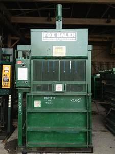 Used Fox Baler Vertical Downstroke Baler Model 48