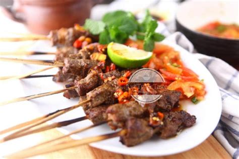 Salah satu menu andalan saat hari raya. Resep Sate Maranggi   Just Try & Taste