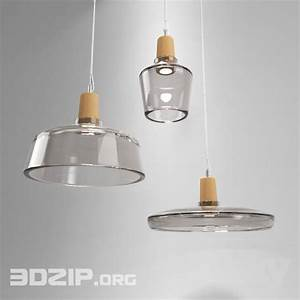 D ceiling light model
