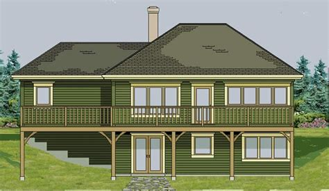 Walk Out Ranch House Plans by Walk Out Basement On Basements Walkout