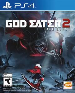 God Eater 2 Rage Burst Playstation 4 Bandai Namco Store