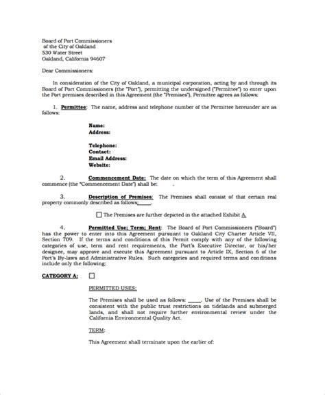 sample rental agreement templates   ms word