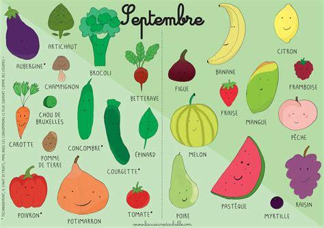 légumes de septembre calendrier fruits et l 233 gumes septembre la cuisine d