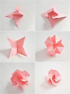 Fleur En Origami Facile : pliage rose trendy pliage de serviette en forme rose ~ Farleysfitness.com Idées de Décoration