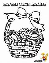 Easter Pages Basket Coloring Baskets Yescoloring Printable Christian Colouring Print Handsome Egg Empty Boys Printables Activities Comments sketch template