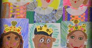 In the Art Room: Royal First Graders (Cassie Stephens) Escritura, Nota y Lectura