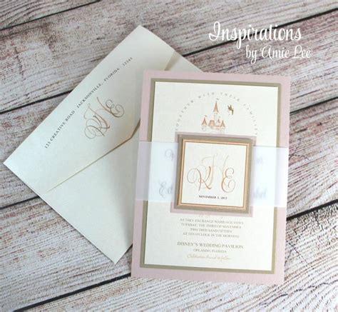 disney wedding invitations fairy tale wedding