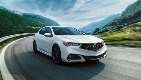 2019 Acura Tlx Introduces The Sportier 24l Aspec The