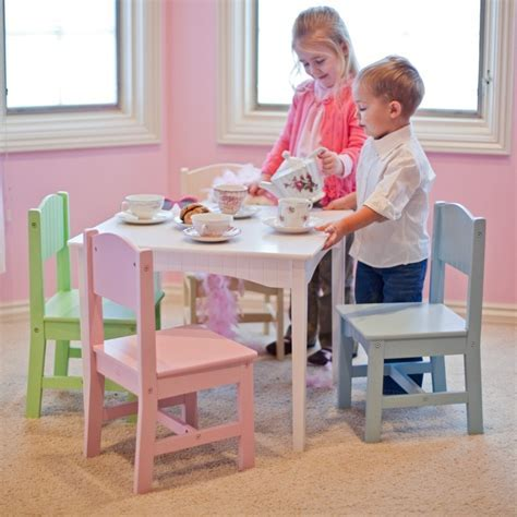Modern Kids Table and Chairs: Design Options   HomesFeed