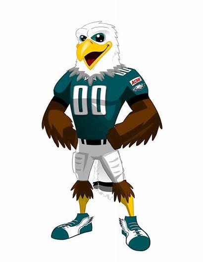 Swoop Nfl Mascots Eagles Beloved Philadelphia Request