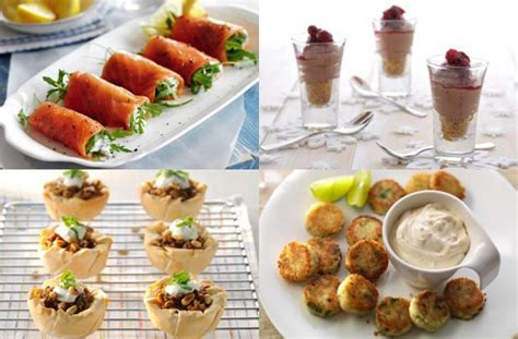 50 and easy canapes goodtoknow