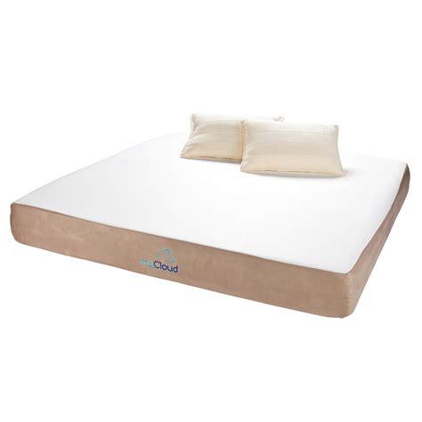 king memory foam mattress mycloud 10 quot cal king gel memory foam mattress 579479