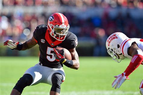 How Are Uga's Wr's Doing In Spring