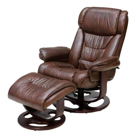 lane recliner and ottoman lane reclining swivel leather armchair ottoman lot 117