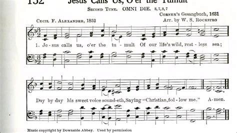 Jesus Calls Us; O'er The Tumult (omni Die)