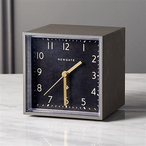 Newgate Grey And Black Cubic Alarm Table Clock + Reviews  Cb2. Countertop Table Set. Granite Bar Table. Table Legs Ikea. Novelty Desk Calendars. Height Of A Standard Desk. Brown Corner Desk. Glass Desk Ikea. Adele Tiny Desk