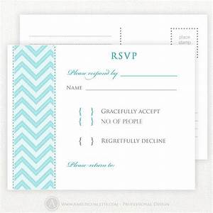 7 best images about rsvp cards on pinterest love birds for Rsvp template for event